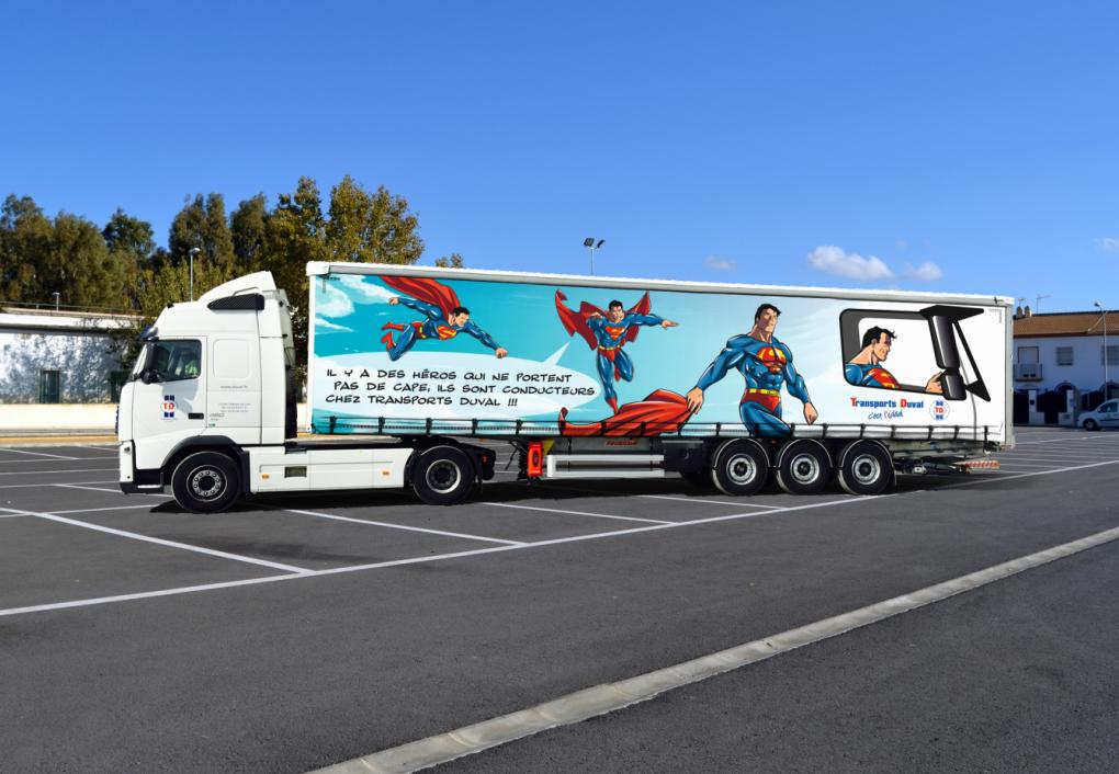 Camion duval location suivi livraison GedMouv